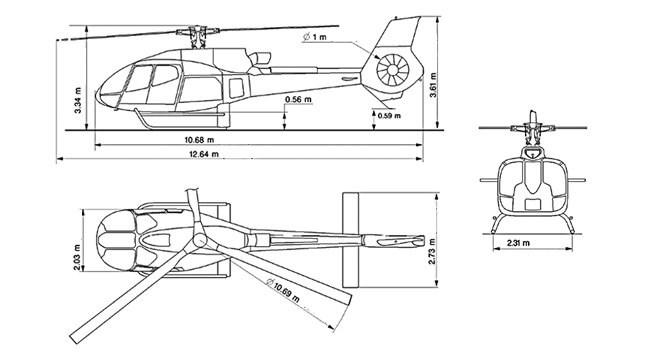 Airbus EC130T2 Specifications