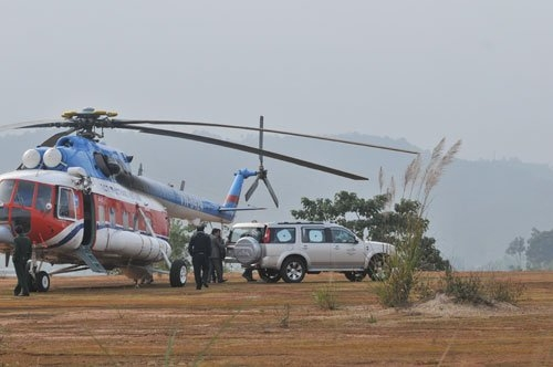 helicopter from Hanoi to Lao Cai