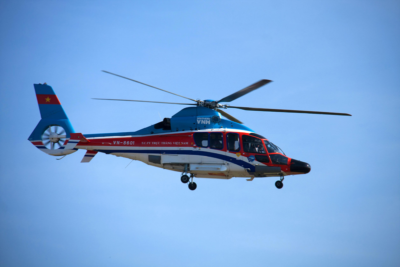 EC 155B1 helicopter in service