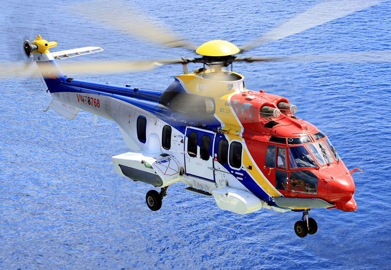 Eurocopter EC 225 (19 seats)