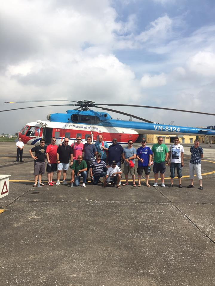 south africa group by helicopter