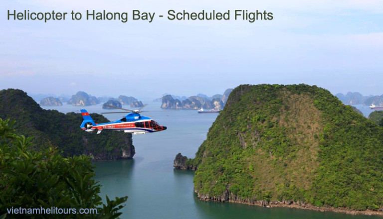 Book Helicopter to Halong Bay from Hanoi