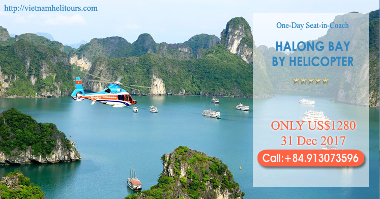 Halong Bay Day Tour Promotion 31 Dec 2017