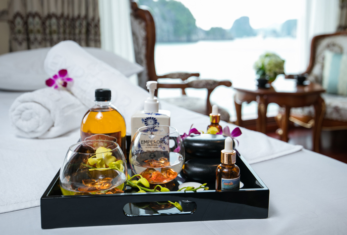 Spa on Emperor Cruise in Halong Bay