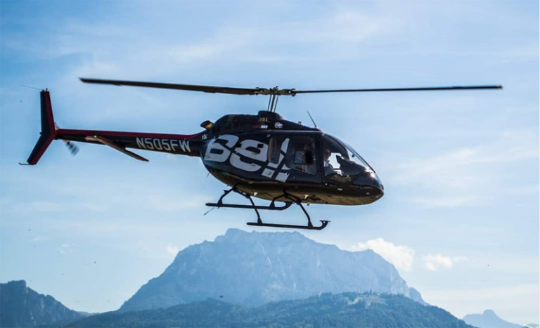 Bell 505 Helicopter to Halong Bay from Hanoi