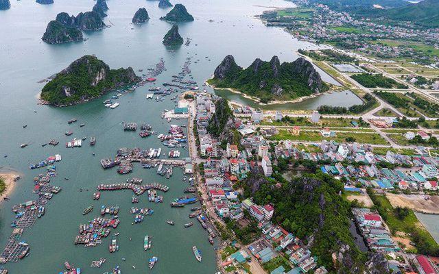 Van Don Island in Quang Ninh Vietnam