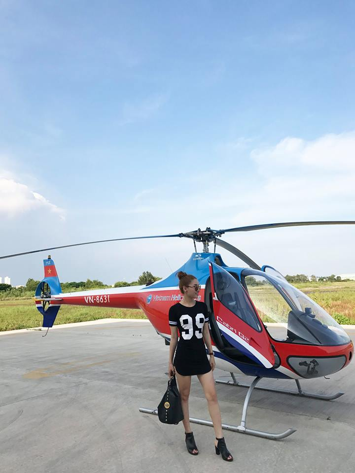 Charter helicopter flight in Vung Tau for one passenger