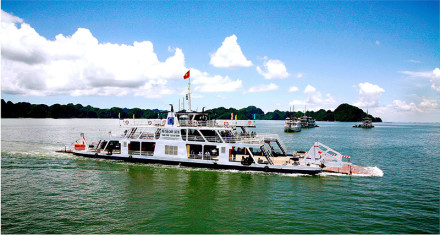 Get to Halong Bay from Cat Ba Island