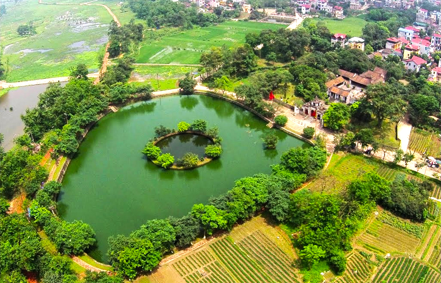 Co Loa Citadel in Hanoi Helicopter Tour