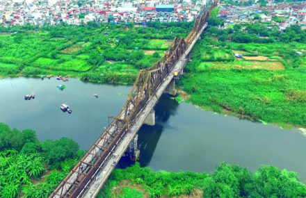 Hanoi Red River Helicopter Tour by Bell 505